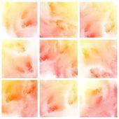Barevné umění abstraktní vody — Stock fotografie
