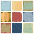Royalty-Free Stock Vector Image: Grunge Square Backgrounds Vector