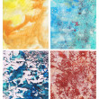 Abstract Color Backgrounds - Foto Stock
