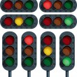 Traffic Lights — Stock Vector #34346733