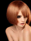 Red Hair. High quality image. — Stock Photo