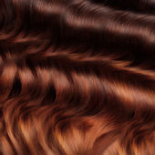 Brown Hair Texture. High quality image. — Stock Photo