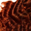 Brown Curly Hair Texture. High quality image. — Stock Photo