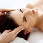 Beautiful Woman Getting Spa Treatment — Stock Photo