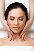 Beautiful Woman Getting Spa Treatment — Stock Photo