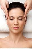 Vrouw krijgen spa-behandeling — Stockfoto