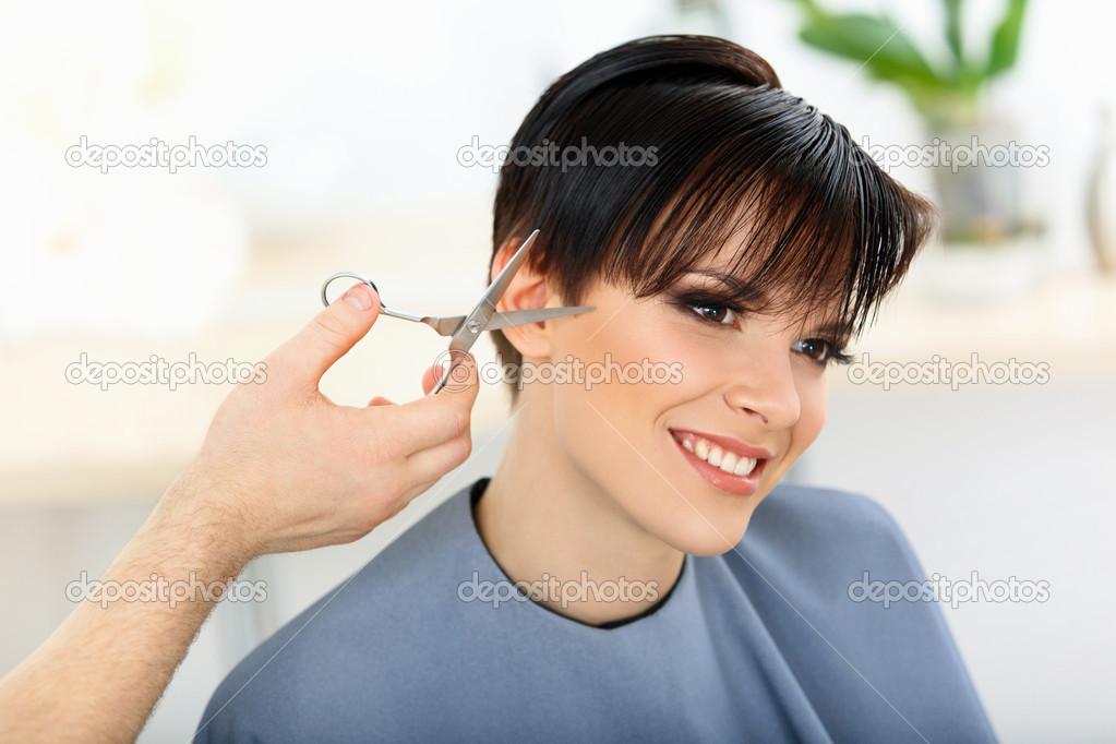 Брюнетки с короткими волосами фото 74-966