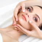 Face Massage. — Stock Photo