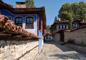 Old houses in Koprivshtitsa, Bulgaria — Stock Photo