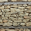 Stock Photo: Flint and stone wall