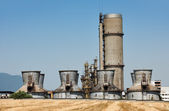 Old chemical plant — Stock Photo