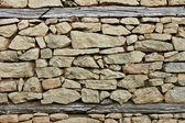Flint and stone wall — Stock Photo