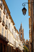 Street architecture in Aix en Provence — Stock Photo