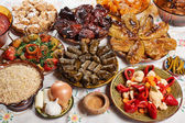 Bulgarian Christmas food — Stock Photo