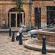 Sunday calmness in Aix en Provence — Stock Photo