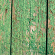 Stock Photo: Cracked green paint background