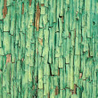 Stock Photo: Cracked green paint background close-up