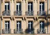 Classic windows in Marseille — Stock Photo