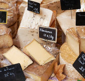 French cheese for sale — Stock Photo