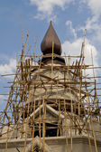 Construction of the temple Thai style — Stock Photo