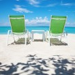 Take a break on paradise beach — Stock Photo
