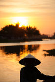 Vietnamese sunset — Stock Photo
