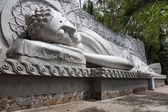 Buddha at the Long Son Pagoda in Nha Trang — Stock Photo