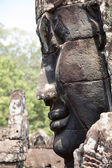 Bayon temple Cambodia — Stock Photo