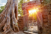 Ruins of Cambodian temple — Photo