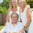 Elderly couple and their daughter  — Stock Photo #50519779