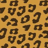 Animal skin textures of leopard. Vector illustration wild pattern, eps 10 — Stock Vector