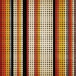 Seamless vintage pattern. Multicolored dot background, Eps 10 - Stock Vector