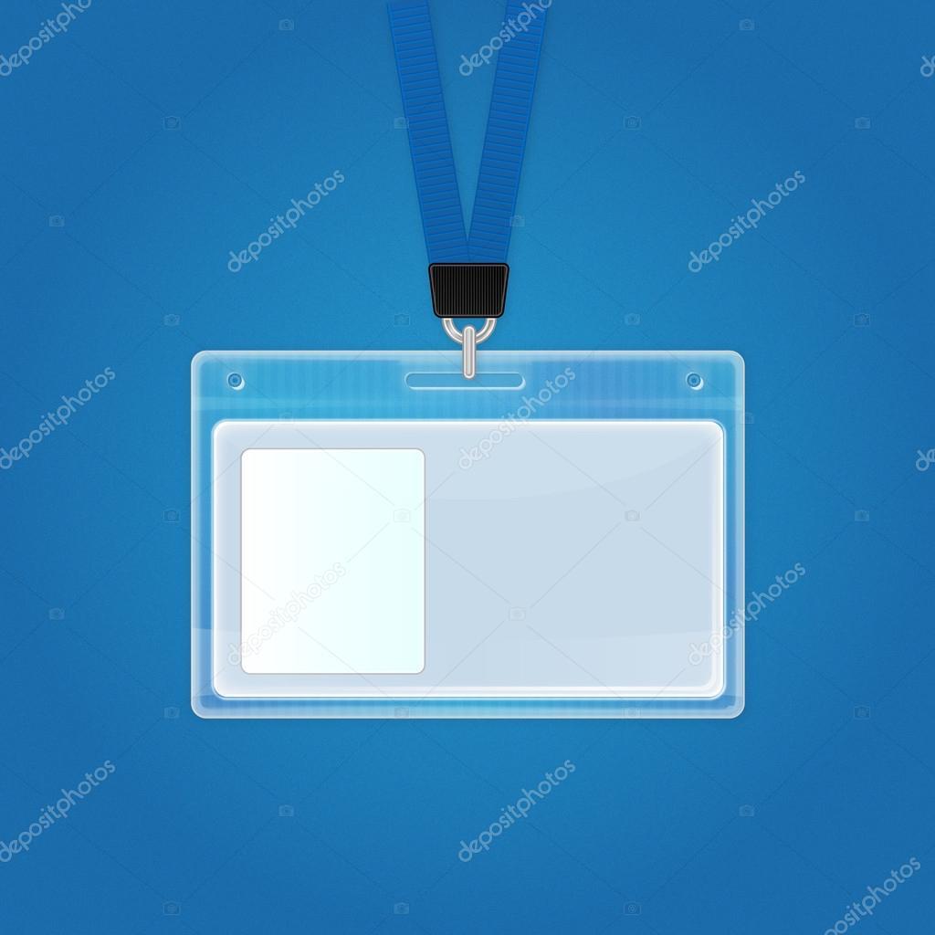 Badge Holders: Plastic Name Badges, ID Card and. - Lanyard Plastic photo id badges
