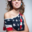 Stock Photo: Cute Americgirl with toothy smile