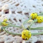 Clay amulet ladybirds — Stock Photo #22929084