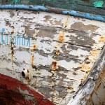 Rusty boat in marina in Sozopol — Stock Photo