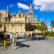 Sevilla Cathedral — Stock Photo