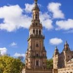Spanish Square Tower — Stock Photo #26187107