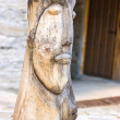 Stock Photo: Wooden statuette