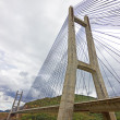 Cable-stayed bridge — Stock Photo