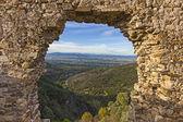 Stone Window — Stock Photo