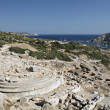 Temple of Aphrodite, Knidos, Datca — Stock Photo