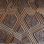 Door patterns of Grand Mosque in Bursa — Stock Photo