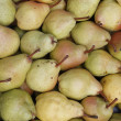 Macro view of pears — Stock Photo