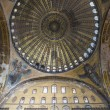 Royalty-Free Stock Photo: Angel Mosaics and dome of Hagia Sophia
