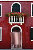 Window, Burano, Italy — Stock Photo