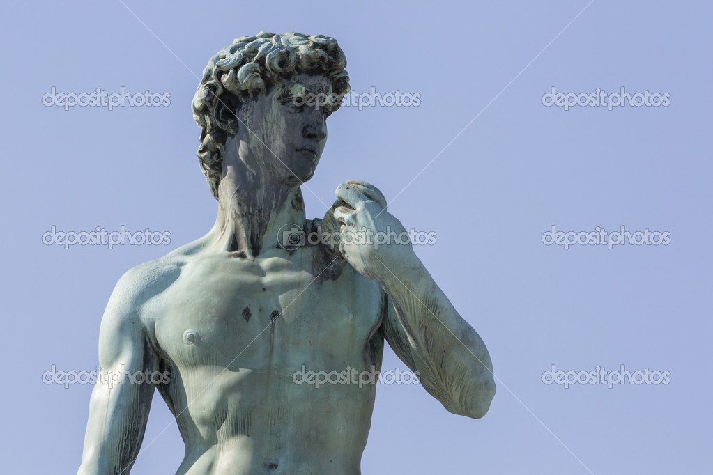 大卫雕像 — 图库照片08igercelman#13915056