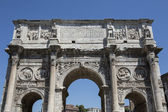 Constantin gate in Rome, Italy — Stock Photo