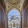 Gate to court yard of Suleymaniye Mosque — Stock Photo