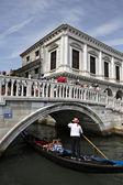 Goldola in Venice — Stock Photo